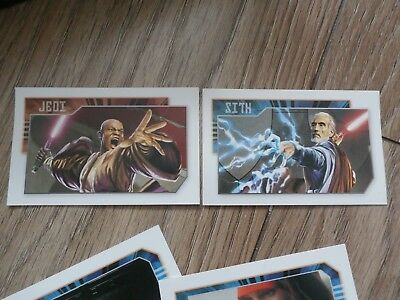 Star Wars Cards  32 Jedi & Sith Monopoly Game Cards