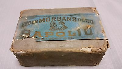 Vintage Enoch Morgan's Sons Sapolio Soap Cleaning And Polishing Bar