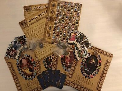 Disney Sorcerers of the Magic Kingdom Game/4 Game Boards/Tokens/Keys/Cards!!