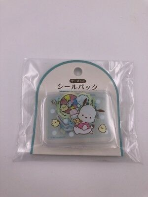 Sanrio Japan: Pochacco Stickers With Plastic Case (L3)