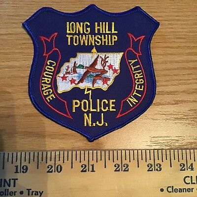 Old Long Hill Township Nj New Jersey  Police Patch