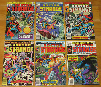 1975 Up DOCTOR STRANGE Lot of 12 No. 11 18 19 20 21+++  +Unauthorized Amy Grant