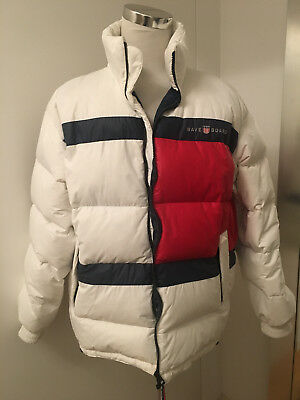 ORIGINAL WAVE BOARD warme Herren Daunen Jacke Ski Gr. XL XXL