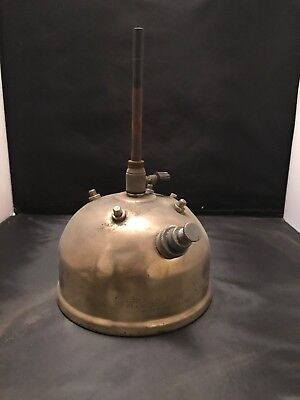 Antique Early Rare Tilley Paraffin Lamp X246A Tank Camping Pressure Lamp.   25