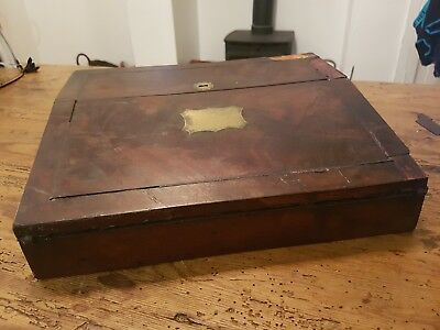 Nice Vintage (Victorian) Wooden Writing Slope
