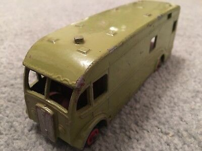 House Clearance Attic Find Vintage Old Toy Dinky Horse Box Lorry Truck Spares