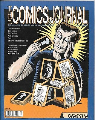 The Comics Journal #234 Charles Burns Set Deitch Sacco Griffith & More