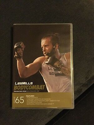 les mills body combat 65 Cd, Dvd And Choregraphy Notes