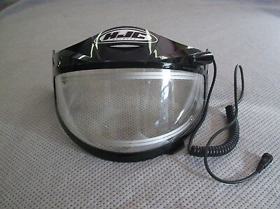 Hjc Heated Snowmobile Shield With Cord Model Hj-09D - Exc Cond!!