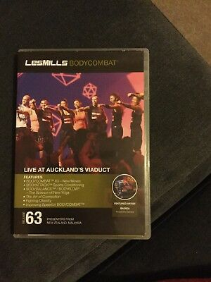 Les Mills Body Combat 63 Cd, Dvd And Choregraphy Notes