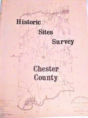 Historic Sites Survey Chester County South Carolina Paperback 1976