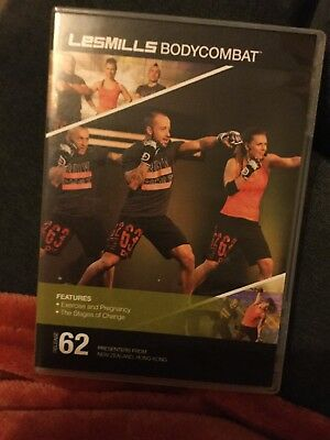 Les Mills Body Combat 62 Cd, Dvd And Choregraphy Notes