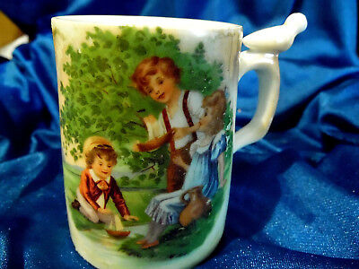 ANTIQUE Childs  Original Porcelain WHISTLE CUP  Early 1900's