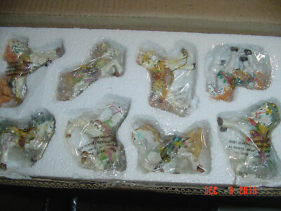 8 Carousel Horse Ornaments - Never used