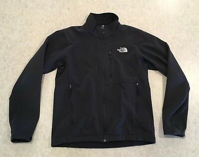 The North Face Apex Soft Shell Jacket Mens Small Black