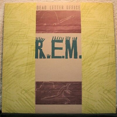 R.e.m. Rem Dead Letter Office  Original 1987 Release All Around Great Condition