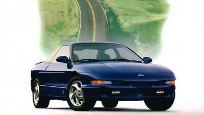 1997 Ford PROBE Brochure / Catalog with Color Chart: GT, GTS.........New!