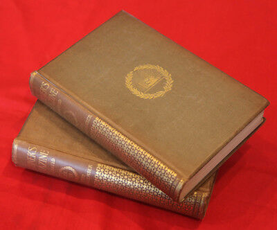 2-vol. Gilt Bound Scribner's Magazines at the 1893 World's Columbian Exposition