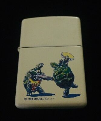 Zippo by Stanley Mouse & Alton Kelly Grateful Dead Dancing Turtles Lighter 1999