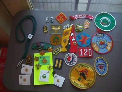 Lot of Boy & Girl Scouts of America Pins, Patchets, Badges