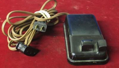 Vintage Singer Featherweight Sewing Machine Foot Pedal