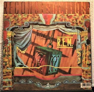 R.e.m.  Fables Of The Reconstruction  Original 1985  Very Good Condition