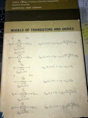 Models of Transistors and Diodes by Linvill, John 1963 McGraw Hill Book Co HC/DJ