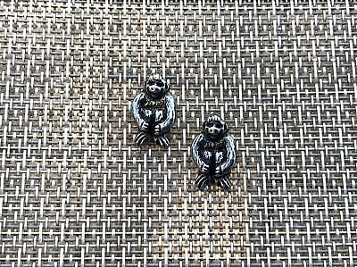 Zoo Animal 6 His & Hers & Friends Monkey Ape Pewter Pins All New.