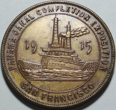 """1915 PANAMA-PACIFIC EXPOSITION """"Exposition State"""" SO-CALLED DOLLAR San Francisco"""