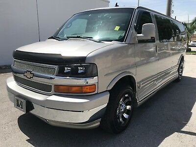 2008 Chevrolet Express conversion van chevy express conversion van gmc savana