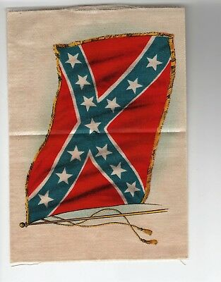 Vintage 1910 TOBACCO SILK Southern Flag 1st DISTRICT NY