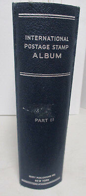 Scott INTERNATIONAL ALBUM for YEAR 1984, WORLD COUNTRIES A - Z; NICE CONDITION!