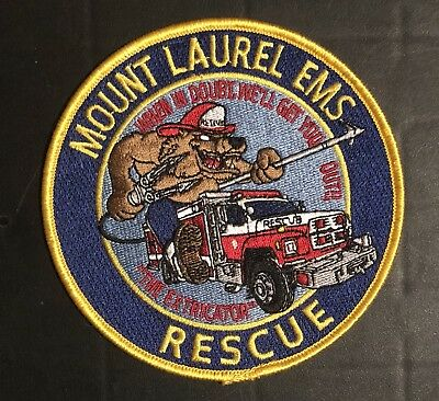 Mount Laurel New Jersey Nj Fire Ems Rescue Company Patch Fdny Ny New York Rare