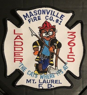 Masonville Mount Laurel New Jersey Nj Fdny Fire Rescue Ems Patch Ladder Company