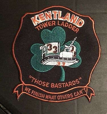 Kentland Maryland Md 33 Fire Rescue Ems Patch Ladder Engine Fdny Company