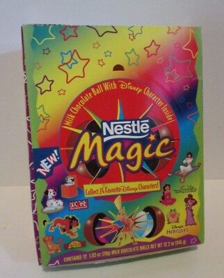 Vintage Disney Nestle Magic Candy Empty Store Display Box Open No Candy/toys