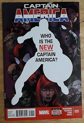 CAPTAIN AMERICA 25. Who is the new Captain America?
