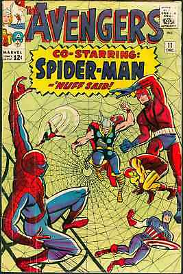 Avengers  #11   Spider-Man Crossover (Marvel 1964)