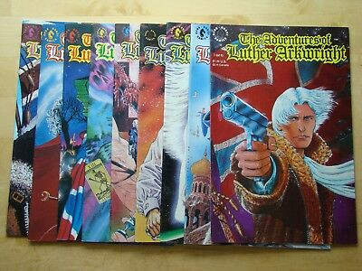 The Adventures Of Luther Arkwright Lot #1,2,3,4,5,6,7,8,9 (Vf-Nm) Full Set