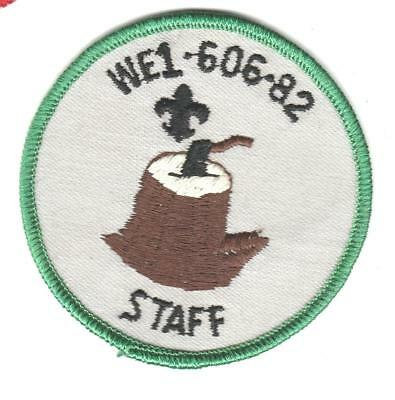 Camp Omache Wood Badge WE1-606-82 Staff