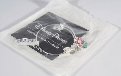 New Alex and Ani 2018 Mickey's Very Merry Christmas Party Silver Bracelet Disney