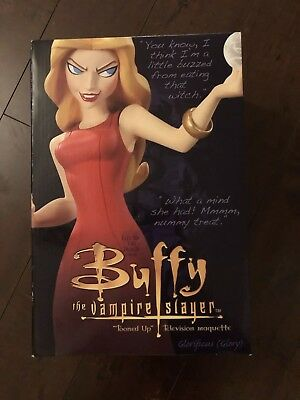 """Glory Buffy the Vampire Slayer """"Tooned Up"""" Electric Tiki Maquette #431/500 NEW"""