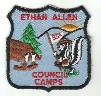 Camp Ethan Allen Council Camps shield
