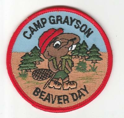 Camp Grayson Beaver Day