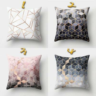 1Pc Throw Pillow Case Geometric Partten Home Sofa Cushion Cover Decor JAZZ