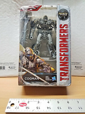 Hasbro Transformers: The Last Knight Premier Edition Deluxe Co Action Figure Toy