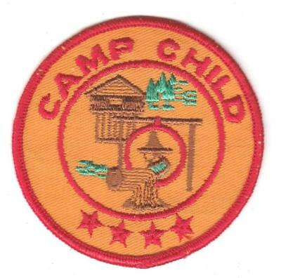 Camp Child twill four star
