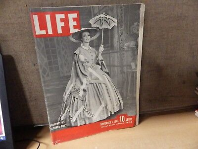 Vintage World War Ii Ww2 Life Magazine Lot Of 3 November 1944 6Th 20Th 27Th