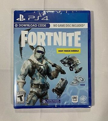 Fortnite Ps4 Playstation 4 Physical Disc Rare New Sealed
