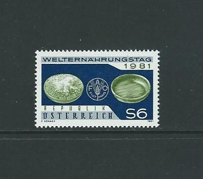 1981 AUSTRIA World Food Day (Scott 1193) MNH